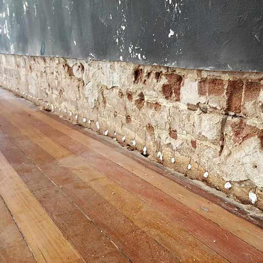Rising Damp Treatment in Sydney NSW